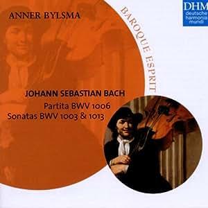 Bach - Sonates BWV 1013 et 1003 / Partita BWV 1006
