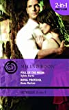 Sylvie Kurtz/Dana Marton Pull of the Moon/Royal Protocal (Mills & Boon Intrigue 2 in 1)