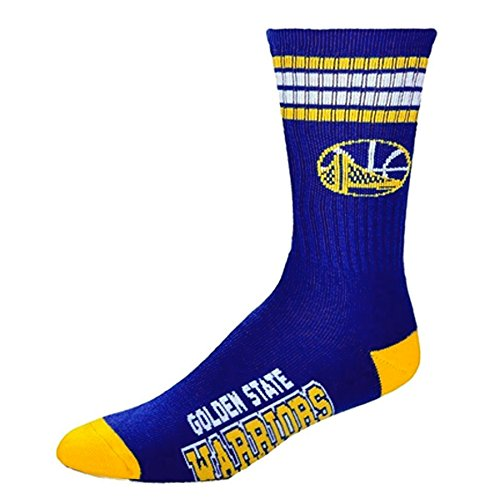 nba-4-stripe-deuce-socks-mens-large-fits-10-13-golden-state-warriors