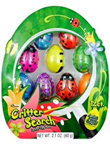 Critter Easter Eggs Filled with Candy 12ct