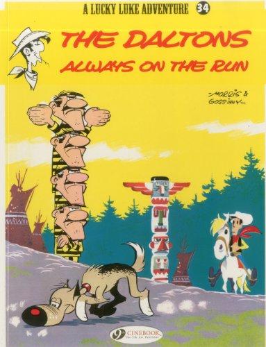A Lucky Luke Adventure, Tome 34 : The daltons always on the run (Lucky Luke 34)