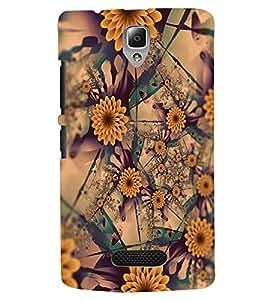 PRINTSWAG FLOWERS PATTERN Designer Back Cover Case for LENOVO A2010