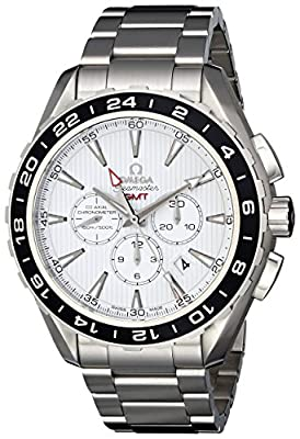Omega Men's 231.10.44.52.04.001 Seamaster Aqua Terrra Stainless Steel Watch