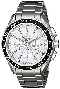 Omega Men's 231.10.44.52.04.001 Seamaster Aqua Terrra White Dial Watch