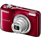 Nikon Coolpix L29 Kit - Cámara de fotos, rojo