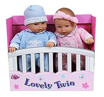 Lissi Dolls - A1502477 - Adorables Jumeaux - 28 Cm