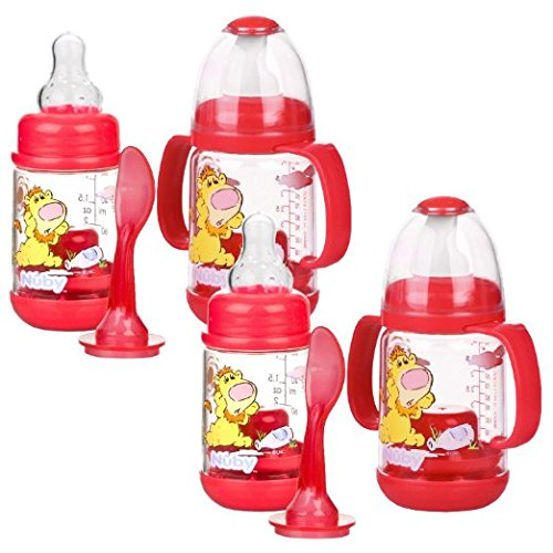 Infant Printed Bottle Feeder Set (Printed Baby Bottles compare prices)