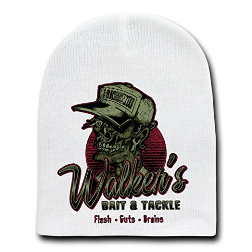 """Walkers"" TV Show Parody - White Adult Beanie Skull Cap Hat"