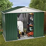 BillyOh 8 x 6 Metal Shed