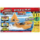 Real Construction Action Playset - Boat Style