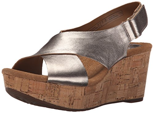 Clarks Brielle Andi Wedge Court Shoes