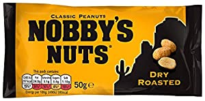 Nobby's Nuts Dry Roasted Peanut 50 g (Pack of 24)