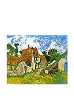 Legendarte Lienzo Strada Tra Cascinali Ad Auvers di Vincent Van Gogh