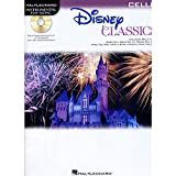 Hal Leonard Disney Classics Instrumental Play Along (Book/CD) Cello