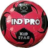 Indpro Unisex Kidstar Football 3 Red Black
