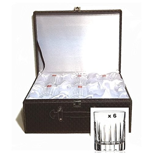 Royal Crystal Rock - Verres à Whisky x 6 LANCELOT cristalin en valise*