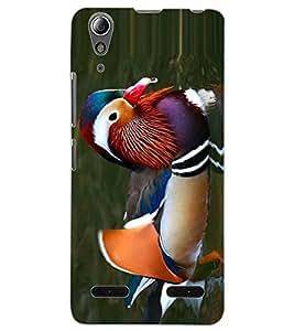 ColourCraft Beautiful Duck Design Back Case Cover for LENOVO A6000 PLUS