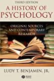 History of Psychology: Original Sources and Contemporary Research
