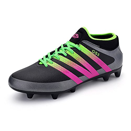 mens-football-boots-ag-spike-microfiber-cleats-adult-and-teenagers-profession-athletics-75-uk-black