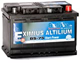 Batterie 12 v 74