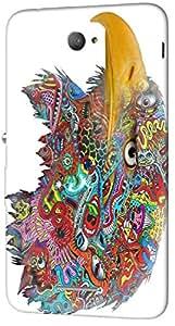 Timpax protective Armor Hard Bumper Back Case Cover. Multicolor printed on 3 Dimensional case with latest & finest graphic design art. Compatible with Sony Xperia E4 Design No : TDZ-28090