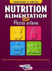 Nutrition Alimentation CAP Petite enfance