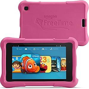 "Fire HD 6 Kids Edition, 6"" HD Display, Wi-Fi, 8 GB, Pink Kid-Proof Case from Amazon"