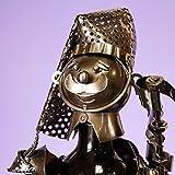 Metal Wine Bottle Holder-Douglas The Scot Bagpipe Player - Bnib