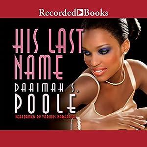His Last Name Audiobook