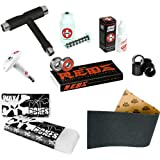 Bones Reds Precision Skate Bearings With Grip Tap, Wax & Complete Maintenance Kit by Bones