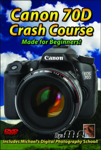 Canon 70D Crash Course Training Tutorial Dvd | Made For Beginners!