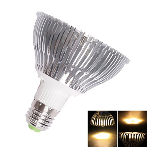 Spot Bulbs - E27 Par30 5W 5 Led 400 Lumen Warm White Light Led Spotlight Lamp (85-265V)