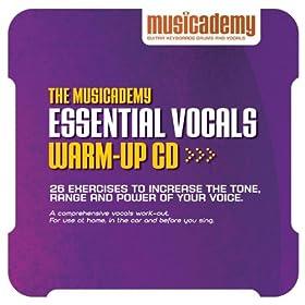 The Musicademy Essential Vocals Warm-up Cd