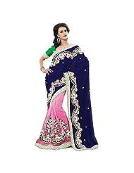 First Loot Triveni Inspired Beautiful Velvetpalla Saree 2201