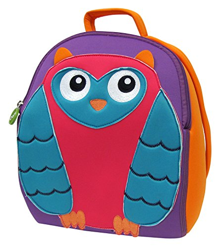 Oops Soft Back Pack, Mr. Wu Owl