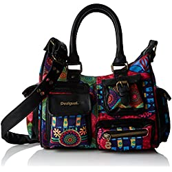 Desigual London Mini Magic - Borse per donna, red
