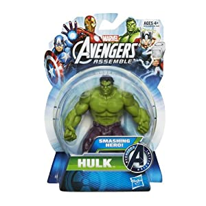 Marvel Avengers Assemble Action Figure Smashing Hero Hulk