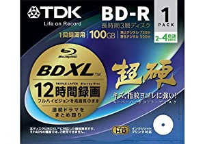 TDK Blu-ray Disc - BD-R XL 100GB 4X Speed 1 Pack Printable - Triple Layer