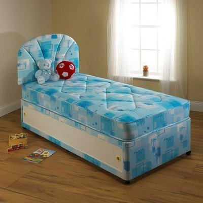 Leo Divan Bed Size: King, Storage: With 4 drawer