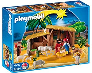 Amazon.com: Playmobil Nativity Manger with Stable: Toys ...