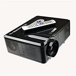 Excelvan 3000 Lumens HD LED Portatile Proiettore 3D Home Theater HDMI VGA / USB / AV / Digital TV Projector Nativa 720p supporto 1080p