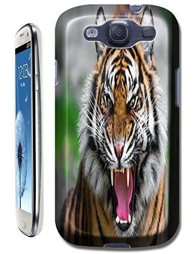 Lovely Power Tigers Cases Covers Phone Hard Back Cases Beautiful Nice Cute Animal Hot Selling Cell Phone Cases For Samsung Galaxy S3 # 13