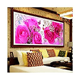 5D Diamond Painting Blossom Age Cross Stitch Rose Living Room Diamond Stitch