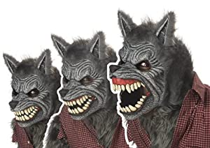 California Costumes Werewolf Mask by California Costumes