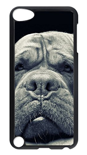 iPod Touch 5 Case, Thingking Bulldog iPod 5 Protective Hard PC Plastic Black Edge Case Cover for Apple iPod Touch 5 5th Generation (Ipod 5th Generation Bulldog Cases compare prices)