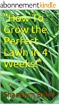 How To Grow a Perfect Lawn in 4 Weeks...