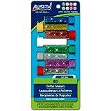 ArtSkills Glitter Shakers, 0.19 Ounces Each, 8 Pieces, 1 Craft Glue, 0.95 Fluid Ounces (PA-1208)