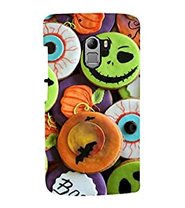 printtech Halloween Candy Sweets Back Case Cover for  Lenovo Vibe X3 Lite