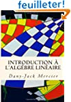 Introduction � l'alg�bre lin�aire