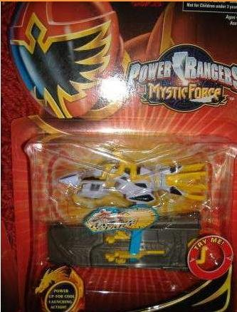 Power Rangers Mystic Force - Mystic Cycle Blasters - Yellow